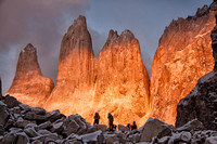 Sunrise on Torres del Paine