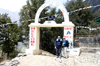 Start of trail to Everest Base Camp.  Glad I left those glasses at the top of Kala Pattar.